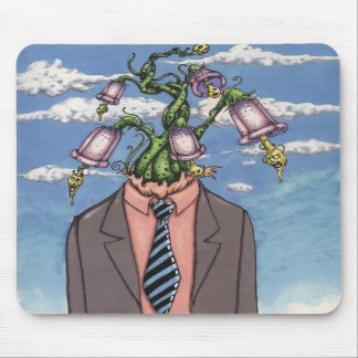head in the clouds mouse pad