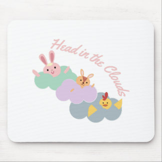 Head In The Clouds Mouse Pads
