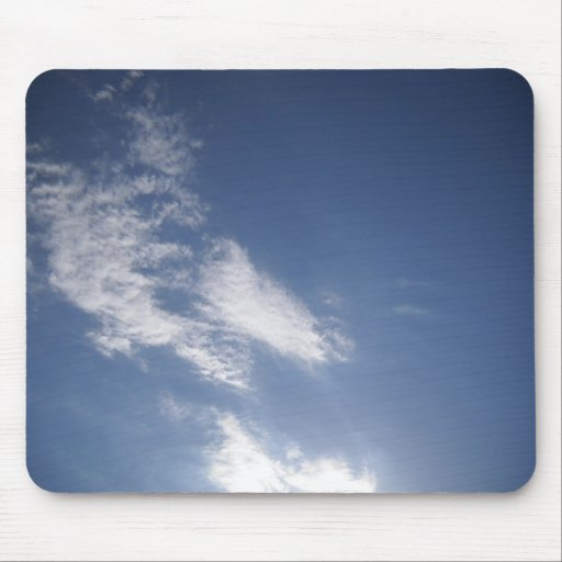 head in the clouds mousepads