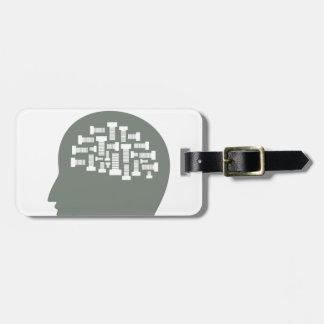 Head Luggage Tag