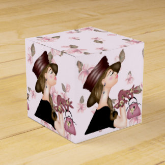 HEAD MODEL CARTOON Classic 2x2 Favor Box