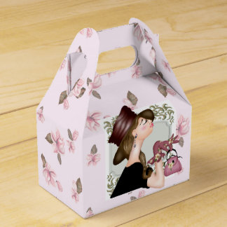 HEAD MODEL CARTOON GABLE Favor Box