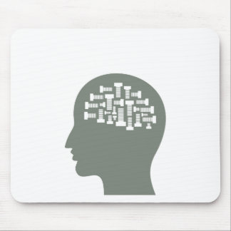 Head Mouse Pad