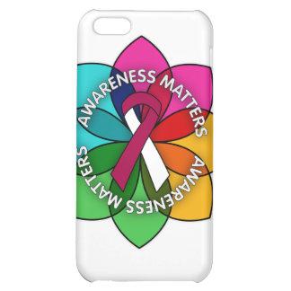 Head Neck Cancer Awareness Matters Petals iPhone 5C Cover