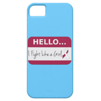 Head Neck Cancer I Fight Like a Girl iPhone 5 Cover