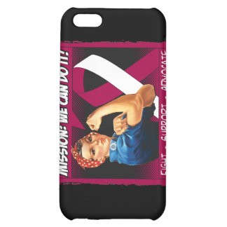 Head Neck Cancer Mission We Can Do It iPhone 5C Covers
