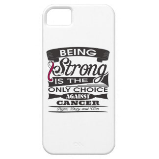 Head Neck Cancer Strong is The Only Choice iPhone 5 Case