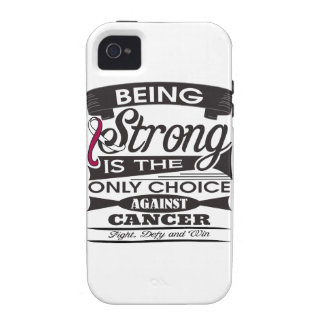 Head Neck Cancer Strong is The Only Choice Case For The iPhone 4