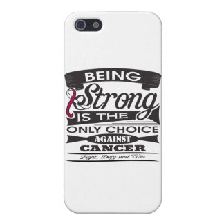 Head Neck Cancer Strong is The Only Choice iPhone 5/5S Cover