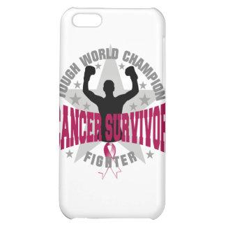 Head Neck Cancer Tough World Champion Survivor Cover For iPhone 5C