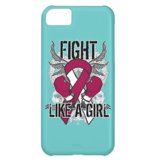 Head Neck Cancer Ultra Fight Like A Girl Case For iPhone 5C