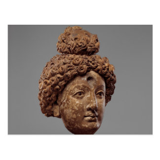 Head of a Buddha or Bodhisattva Postcard