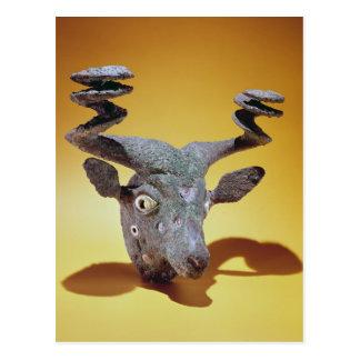 Head of a Bull, from Iraq, c.2000 BC Postcard