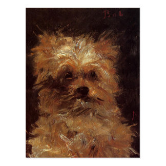 Head of a Dog by Edouard Manet Postcard