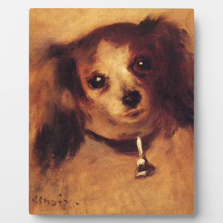 Head of a Dog by Pierre-Auguste Renoir Plaque