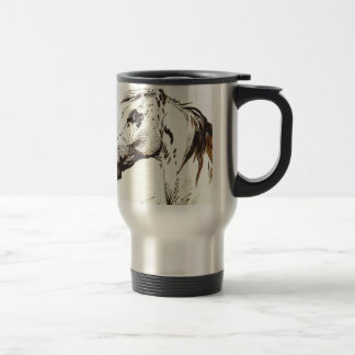 Head of a Horse by Alexander Orlowski Travel Mug