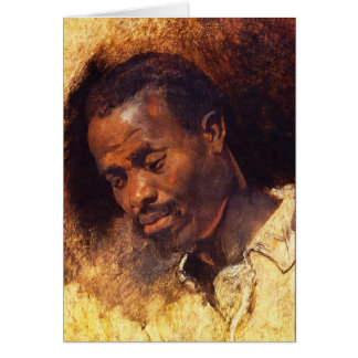 Head of a Negro by Rubens Card