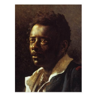 Head of a Negro by Theo Gericault Postcard