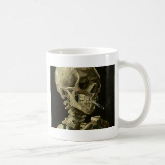 Head of a skeleton mugs