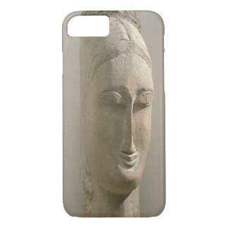 Head of a Woman (stone) iPhone 7 Case