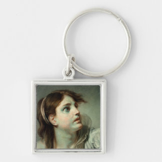 Head of a Young Girl Key Chains