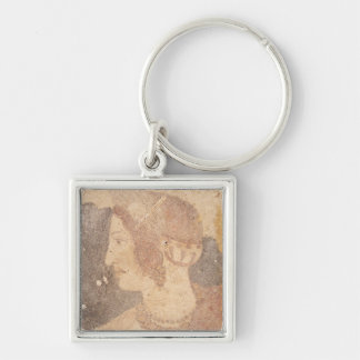 Head of a Young Woman, Velia Key Ring