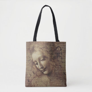Head of a Young Woman with Tousled Hair or, Leda Tote Bag