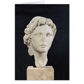 Head of Alexander the Great Card