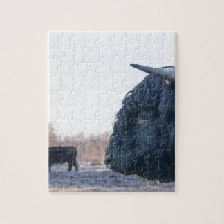 Black Cow Jigsaw Puzzles | Zazzle.com.au