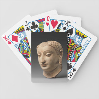 Head of Buddha - 5th–6th century Bicycle Playing Cards
