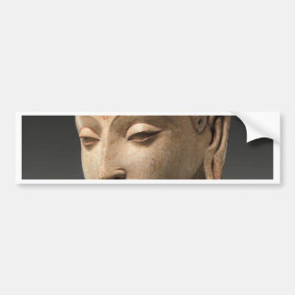 Head of Buddha - 5th–6th century Bumper Sticker
