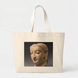 Head of Buddha - 5th–6th century Large Tote Bag
