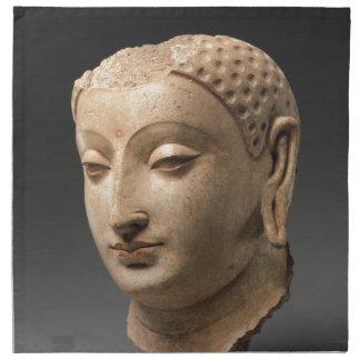 Head of Buddha - 5th–6th century Napkin