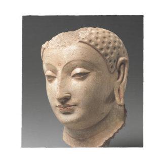 Head of Buddha - 5th–6th century Notepad
