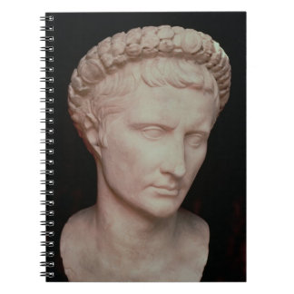 Head of Caesar Augustus Notebooks