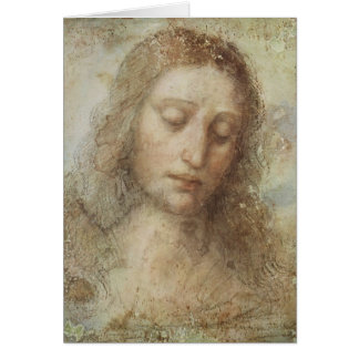 Head of Christ Card