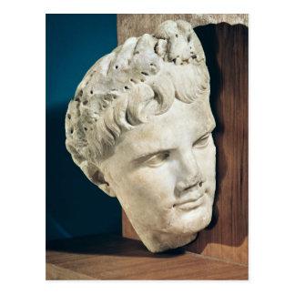 Head of Emperor Augustus  27-17 BC Postcard