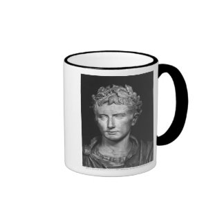 Head of Emperor Augustus Coffee Mugs