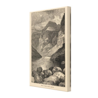 Head of Grand Canyon Canvas Print