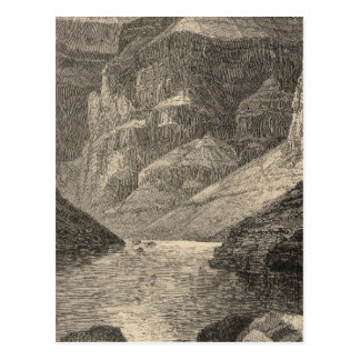 Head of Grand Canyon Postcard