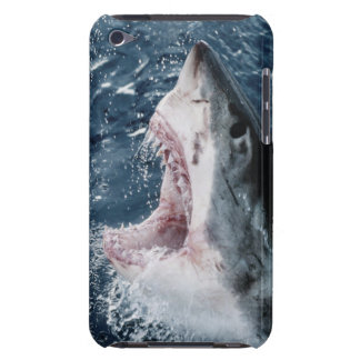 Head of Great White Shark Barely There iPod Case
