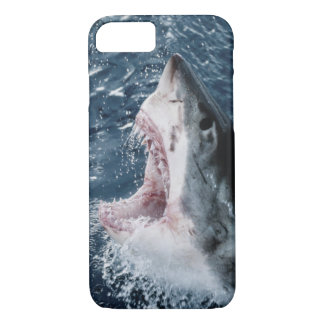 Head of Great White Shark iPhone 8/7 Case