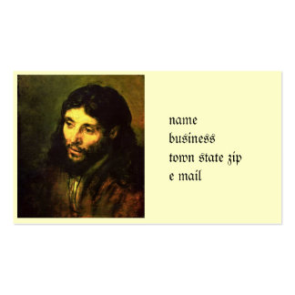 Head of Jesus By Rembrandt Pack Of Standard Business Cards