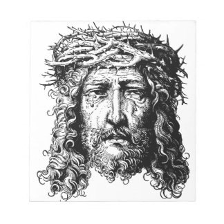 Head of Jesus Christ Notepad