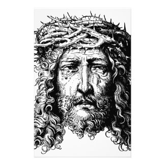Head of Jesus Christ Stationery