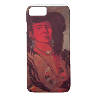 Head of Kate One Horn (oil on canvas) iPhone 7 Case