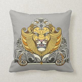 head of lion cushion