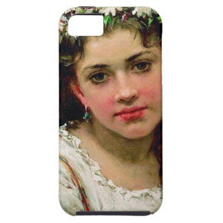 Head Of The Girl iPhone 5 Case