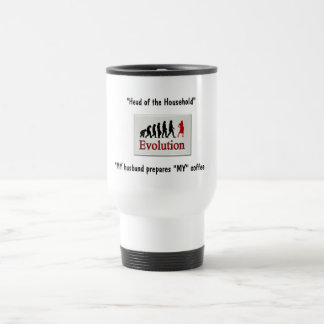 Head of the Household Trave Mug