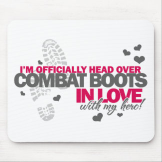 Head over Combat Boots Mouse Pad